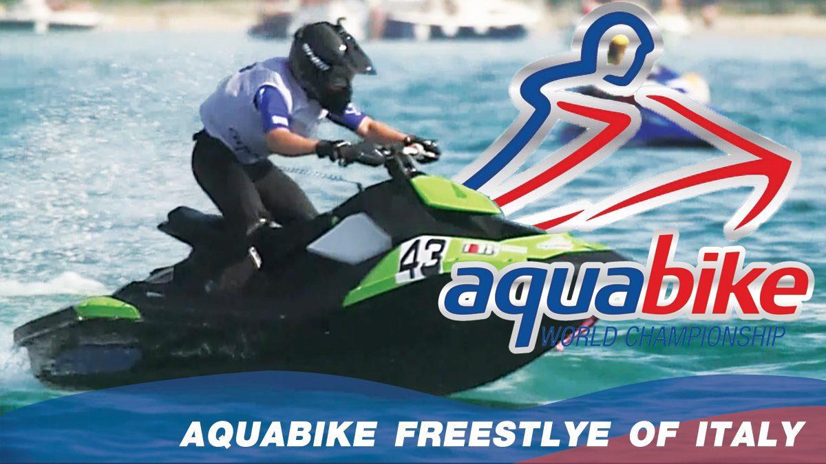 การแข่งขัน H2O Aquabike World Championship Season 17   แข่งขันเจ็ทสกี ณ ประเทศอิตาลี Freestyle