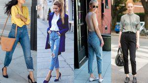แฟชั่น Mom Jeans ใส่ยังไงให้เป๊ะ!