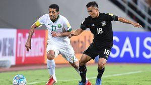 ผลบอล: เกินต้านทาน! ทีมชาติไทย พยายามเต็มที่ก่อนพ่าย ซาอุฯ 0-3 คัดบอลโลก โซนเอเชีย