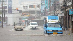 อุตุฯ เตือนฉบับที่ 19 พายุโซนร้อนเซินกา ส่งผลให้ไทยตอนบนมีฝนตกมาก