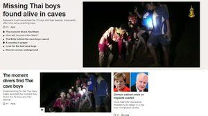 'บีบีซี' พาดหัวข่าวใหญ่ บทวิเคราะห์ภารกิจพิชิต 13 ชีวิต 'ทีมหมูป่า'