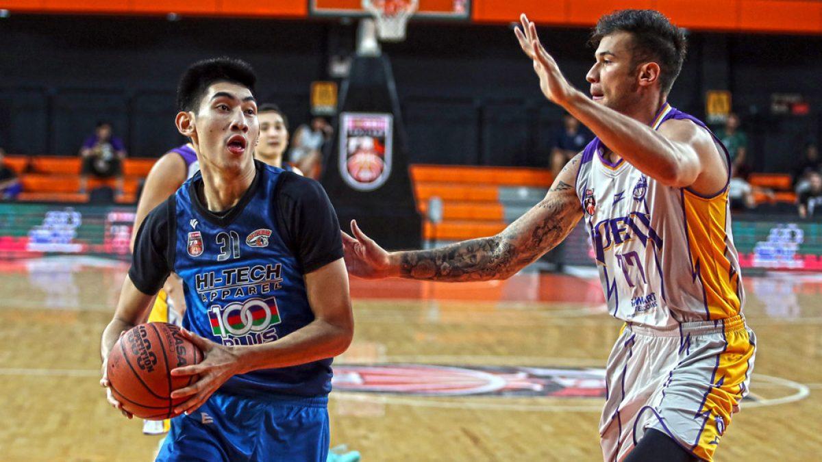 Highlight การเเข่งขันบาสเกตบอล GSB TBL2018 : PEA Basketball Club VS Hi-Tech (19 May 2018)