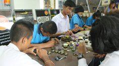 ไอเดียเจ๋ง! โรงเรียนหาดปากเมง นำเปลือกหอยชักตีน มาประดิษฐ์สร้างรายได้