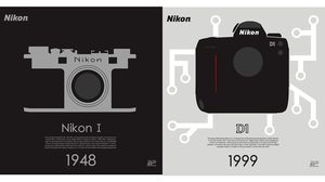 Nikon ฉลองครบ 100 ปี ปล่อยโปสเตอร์กล้องลิมิเตทอีดิชั่น 10 แบบมีเพียง 100 ชุด