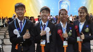 สุดเจ๋ง! นักเรียนเชียงรายคว้า 3 รางวัลใหญ่แข่งวิทยาศาสตร์ระดับโลก