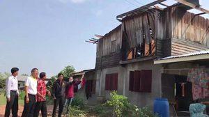 พายุฤดูร้อน ถล่มโคราช 5 อำเภอ บ้านพังเสียหายกว่า 150 หลัง