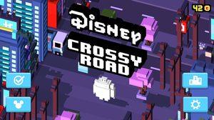 Disney Crossy Road พาเพื่อนๆ ตัวการ์ตูนจากดิสนีย์ข้ามถนนกันเถอะ