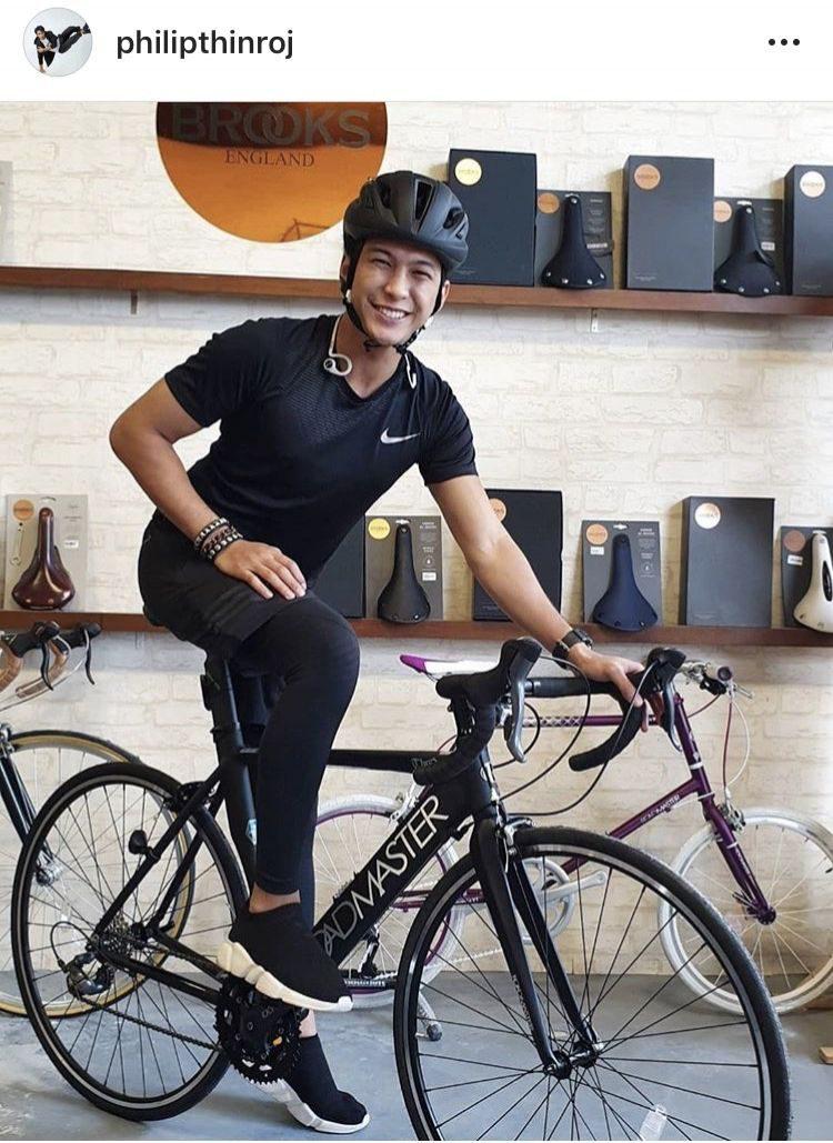 ฟิลลิปส์ เดอะเฟส ได้จักรยานแล้วหน้าแฮปปี้มาก