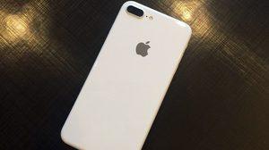 ยลโฉม iPhone 7, 7 Plus สีขาว Jet White อาจวางขายจริงปีหน้า