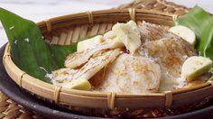 สูตร ขนมกล้วยจี่ ทำได้โดยใช้กระทะ