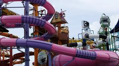 สวนน้ำการ์ตูนเน็ทเวิร์ค เที่ยวพัทยา   Cartoon Network Amazone