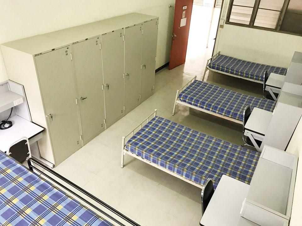 หอพักนิสิตอาคาร 1 (นิสิตหญิง ห้องพักพัดลมห้องน้ำรวม)