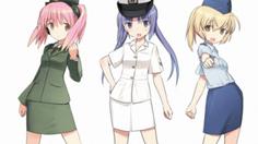 JSDF จัดประชาสัมพันธ์โดยใช้ 3 สาวสุดโมเอะ