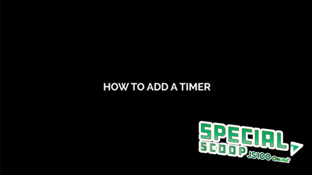 [Smart EGG] How to add a timer