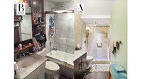 งัดเทคนิค รีโนเวทห้องน้ำ เปลี่ยนห้องแคบให้กลายเป็นห้องกว้าง