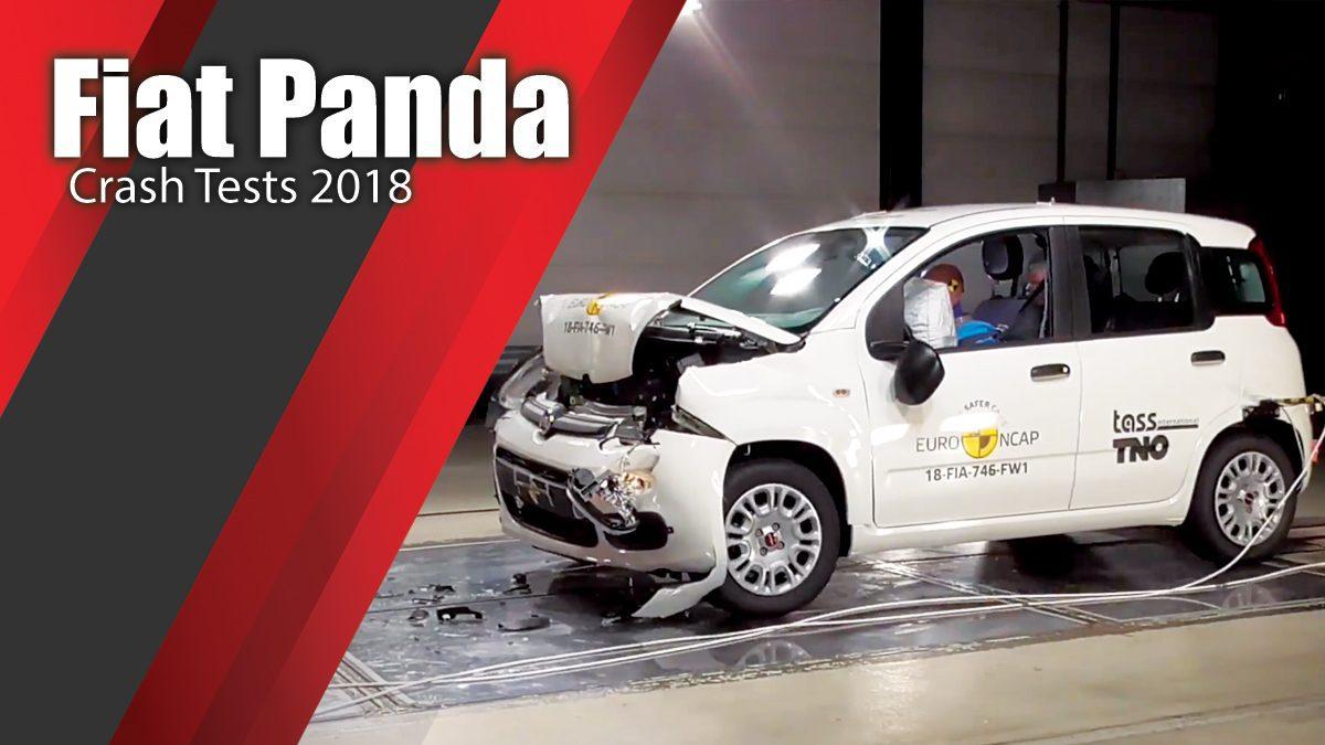 ท้าพิสูจน์ระบบรักษาความภัยของ Fiat Panda - Crash Tests 2018