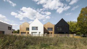 โครงการ บ้านสำเร็จรูป ดีไซน์แนวโมเดิร์นสร้างด้วยกรรมวิธีรักษ์โลก