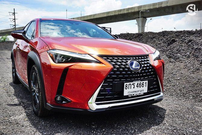 รีวิวรถ Lexus UX250h Grand Luxury ในปี 2019