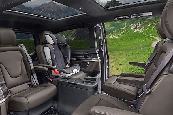 Mercedes-Benz V-Class Facelift