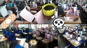 คุณครูทำหมวกซื่อสัตย์ แก้ปัญหานักเรียนลอกข้อสอบ