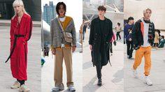 พาส่อง สตรีทแฟชั่น Seoul Fashion Week 2018 อัพเดตเทรนด์กันหน่อยแต่งแบบไหนกำลังอิน