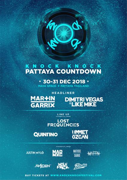 Knock Knock Pattaya Countdown 2019