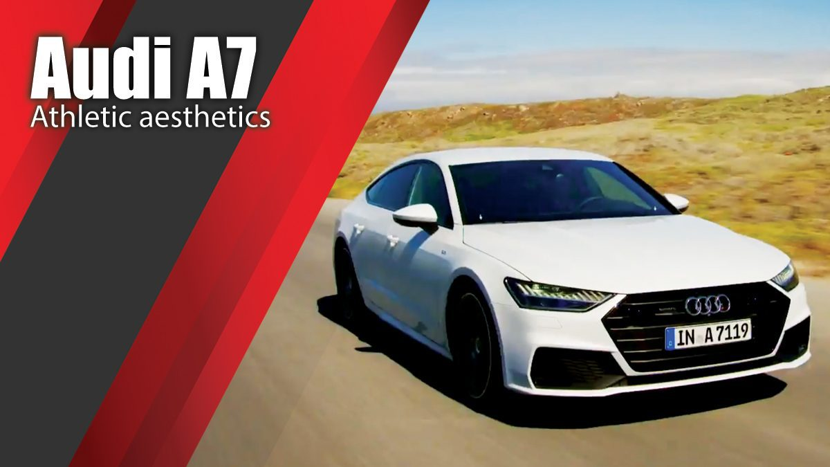 Athletic aesthetics - the new Audi A7 Sportback