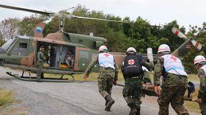 กองทัพเรือ เตรียมพร้อมจัดทีมช่วยเหลือผู้ประสบภัยสึนามิ ในอินโดนีเซีย