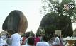 ประชาชนหลั่งไหลนมัสการพระพุทธบาทพลวง