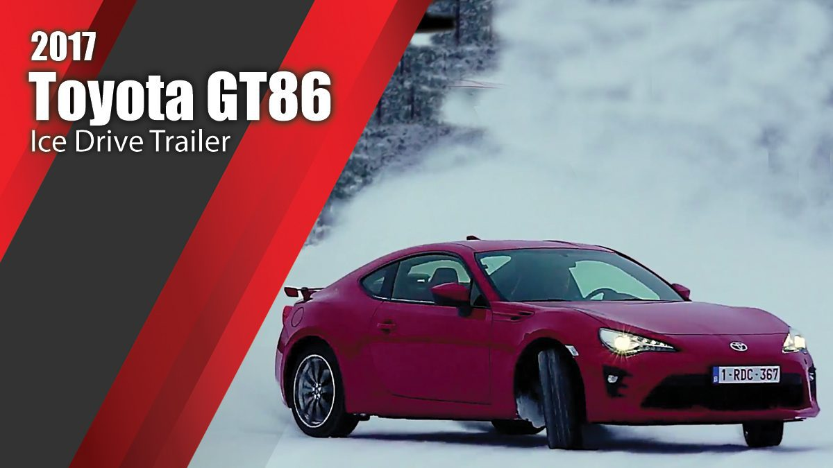 2017 Toyota GT86 Ice Drive Trailer