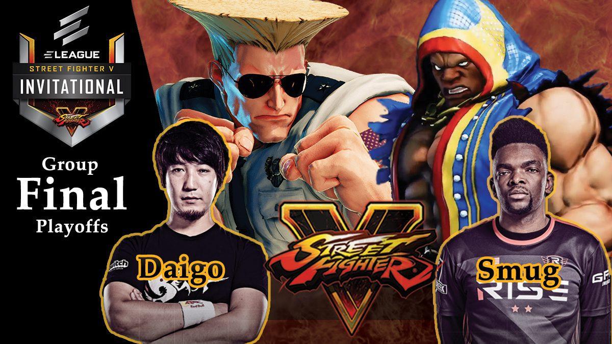 การแข่งขัน Street Fighter V | ระหว่าง Daigo vs Smug [Final Playoffs]