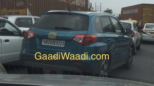 """Spyshot"" Suzuki Vitara วิ่ง Test Drive ที่อินเดีย"