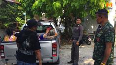 รวบชาวกัมพูชาบนเกาะสมุย ยึดอาชีพขอทาน-เร่ขายพวงมาลัย