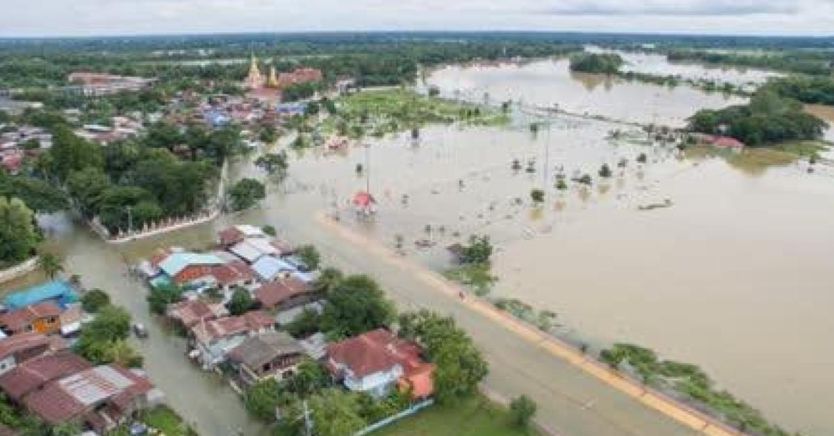 """มีผู้เสียชีวิตจากพายุ""""โพดุล""""และและดีเปรสชั่น """"คาจิกิ"""" ในยโสธร แล้ว 9 คน"""