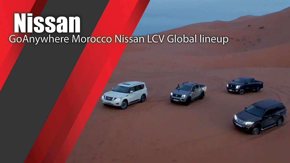 Nissan GoAnywhere Morocco - Nissan LCV Global lineup