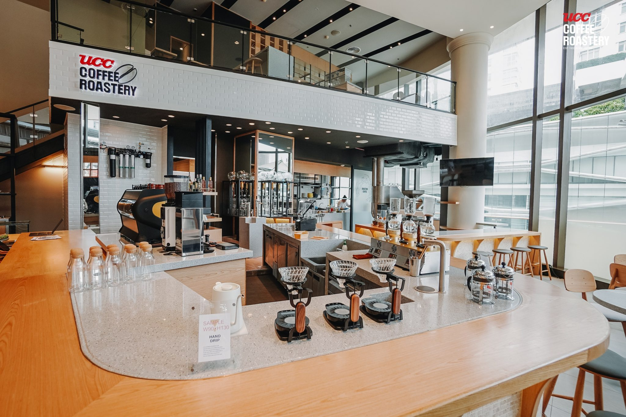 """UCC Coffee Roastery"" ร้านกาแฟ UCC concept store แห่งแรกในเอเชียแปซิฟิก ที่ไทย"