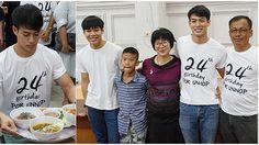 ปอ อรรณพ ชวนครอบครัว-แฟนคลับ ทำบุญวันเกิดครบรอบ 24 ปี