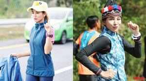 แจกความสดใส!!!  รวมแฟชั่นระหว่างวิ่งก้าวคนละก้าว ก้อย รัชวิน  สาวสตรองตัวจริง