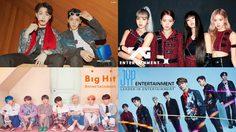 10 ค่ายเพลงเกาหลี ที่มียอดขายอัลบั้มสูงสุด