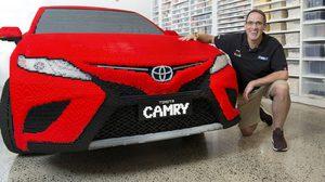 หาชมได้ยากกับ Toyota Camry ตกแต่งด้วย Lego ครึ่งล้านชิ้น