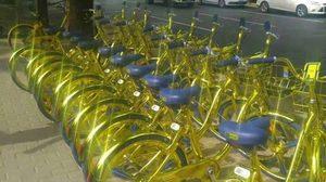 แสบตา!! จักรยานสีทอง เปล่งประกายแวววาวที่จีน