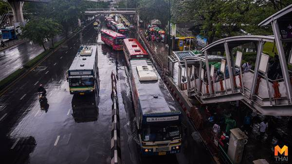 ทั่วไทยมีฝนตกหนักถึงหนักมาก กทม. ฝนฟ้าคะนอง 60% ของพื้นที่