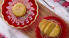 สูตร ขนมไหว้พระจันทร์ไส้คัสตาร์ด เป็นของขวัญให้ญาติผู้ใหญ่