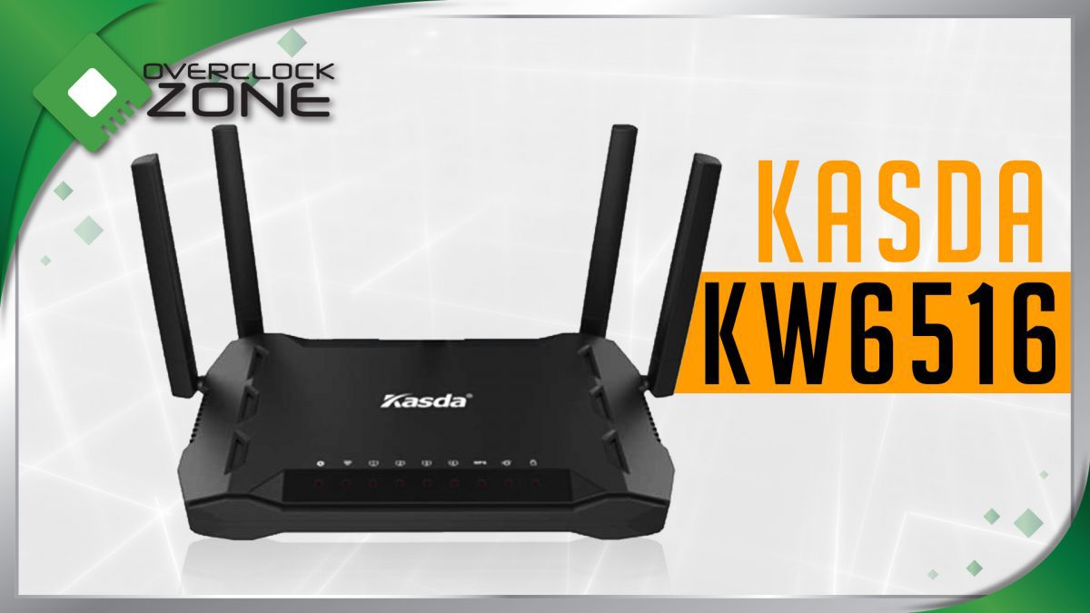 รีวิว Kasda KW6516 AC1200 : Wireless Router
