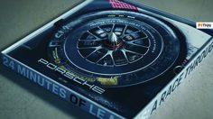 Porsche สร้างแผ่นเสียง จากยาง 919 Hybrid ที่ชนะการแข่งขัน Le Mans