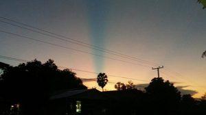 ตะลึง! ชาวหนองคายพบลำแสงประหลาดโผล่ขึ้นฟ้า