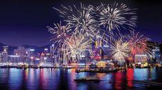ฮ่องกง จัดเคาท์ดาวน์ต้อนรับปีใหม่ โชว์พลุดอกไม้ไฟอลังการ