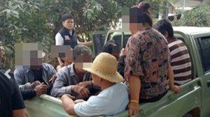 วงไพ่ผู้สูงวัยเผ่นป่าราบ!! จนท.บุกจับกุม ไม่รอดจับได้ 10 คน ยึดเงิน 60 บ.