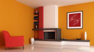 เติมความสดใสปลุกพลังชีวิตด้วย 15 ไอเดีย แต่งห้องโทนส้ม