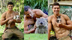สาวๆ น่าจะชอบ ปฏิทินนักดับเพลิง สุดเซ็กซี่จากออสเตรเลีย ประจำปี 2019 มาแล้ว